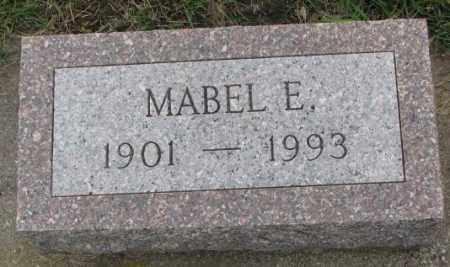 OLSON, MABEL E. - Clay County, South Dakota   MABEL E. OLSON - South Dakota Gravestone Photos