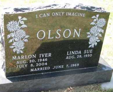 OLSON, LINDA SUE - Clay County, South Dakota | LINDA SUE OLSON - South Dakota Gravestone Photos