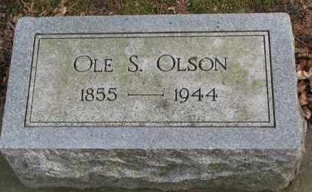 OLSON, OLE S. - Clay County, South Dakota   OLE S. OLSON - South Dakota Gravestone Photos