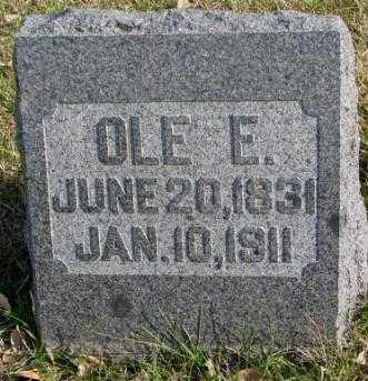 OLSON, OLE E. - Clay County, South Dakota | OLE E. OLSON - South Dakota Gravestone Photos