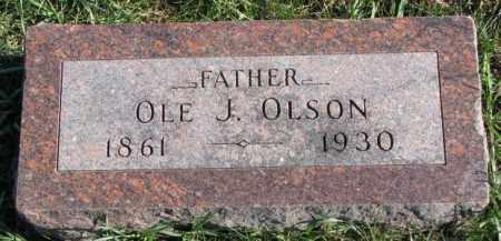 OLSON, OLE J. - Clay County, South Dakota   OLE J. OLSON - South Dakota Gravestone Photos