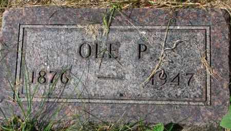 OLSON, OLE P. - Clay County, South Dakota | OLE P. OLSON - South Dakota Gravestone Photos