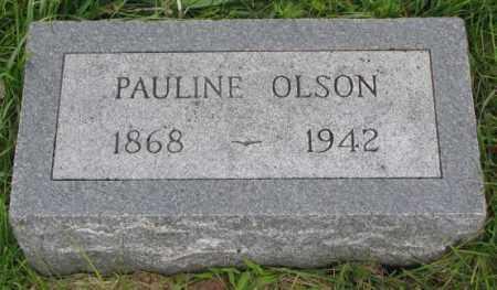 OLSON, PAULINE - Clay County, South Dakota | PAULINE OLSON - South Dakota Gravestone Photos
