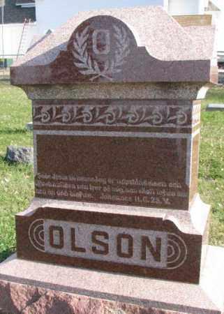 OLSON, PLOT - Clay County, South Dakota   PLOT OLSON - South Dakota Gravestone Photos