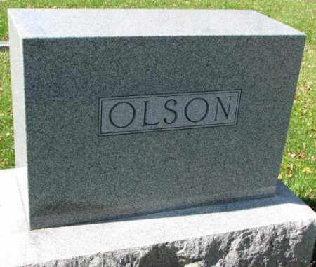 OLSON, PLOT - Clay County, South Dakota | PLOT OLSON - South Dakota Gravestone Photos