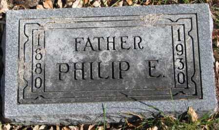 OLSON, PHILIP E. - Clay County, South Dakota | PHILIP E. OLSON - South Dakota Gravestone Photos