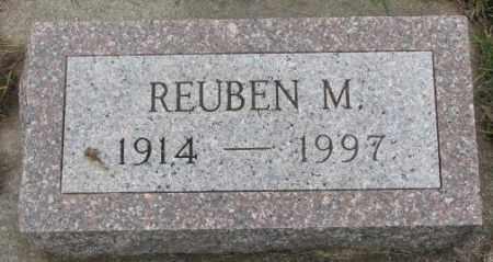 OLSON, REUBEN M. - Clay County, South Dakota   REUBEN M. OLSON - South Dakota Gravestone Photos