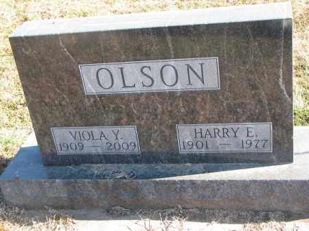 OLSON, VIOLA Y. - Clay County, South Dakota | VIOLA Y. OLSON - South Dakota Gravestone Photos