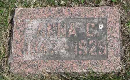 PETERSON, ANNA C. - Clay County, South Dakota   ANNA C. PETERSON - South Dakota Gravestone Photos