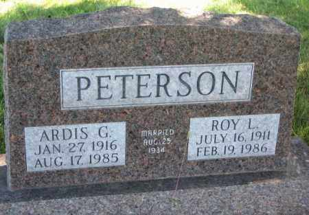 PETERSON, ARDIS G. - Clay County, South Dakota | ARDIS G. PETERSON - South Dakota Gravestone Photos
