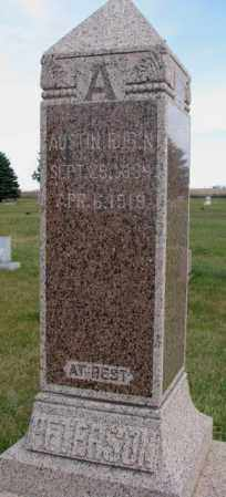 PETERSON, AUSTIN RUBIN - Clay County, South Dakota | AUSTIN RUBIN PETERSON - South Dakota Gravestone Photos