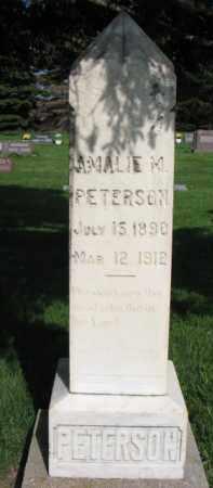 PETERSON, AMALIE M. - Clay County, South Dakota   AMALIE M. PETERSON - South Dakota Gravestone Photos
