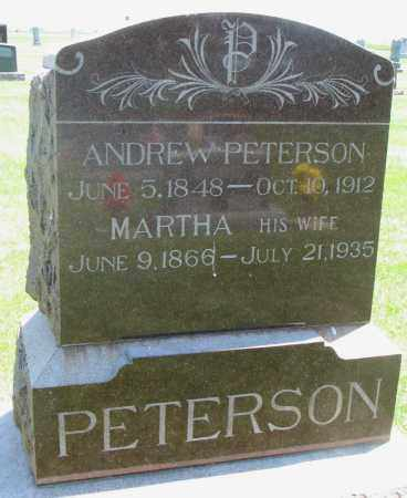 PETERSON, MARTHA - Clay County, South Dakota | MARTHA PETERSON - South Dakota Gravestone Photos