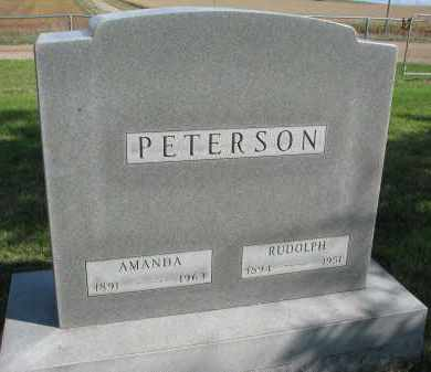 PETERSON, RUDOLPH - Clay County, South Dakota | RUDOLPH PETERSON - South Dakota Gravestone Photos