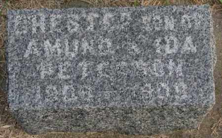 PETERSON, CHESTER - Clay County, South Dakota | CHESTER PETERSON - South Dakota Gravestone Photos