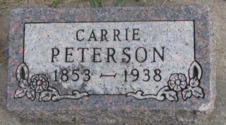 PETERSON, CARRIE - Clay County, South Dakota | CARRIE PETERSON - South Dakota Gravestone Photos