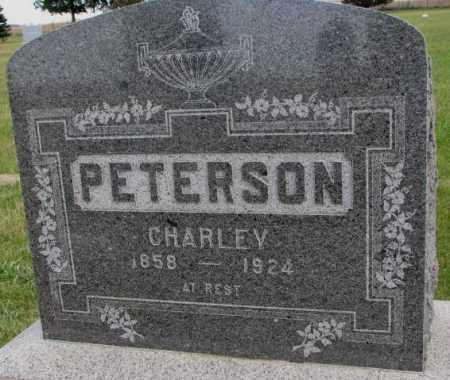 PETERSON, CHARLEY - Clay County, South Dakota | CHARLEY PETERSON - South Dakota Gravestone Photos
