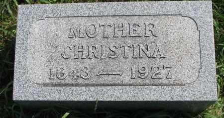 PETERSON, CHRISTINA - Clay County, South Dakota | CHRISTINA PETERSON - South Dakota Gravestone Photos