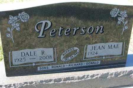 PETERSON, JEAN MAE - Clay County, South Dakota | JEAN MAE PETERSON - South Dakota Gravestone Photos