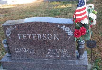 PETERSON, WILLARD - Clay County, South Dakota | WILLARD PETERSON - South Dakota Gravestone Photos