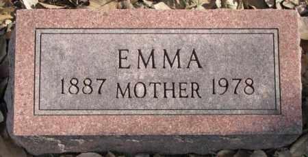 PETERSON, EMMA - Clay County, South Dakota   EMMA PETERSON - South Dakota Gravestone Photos