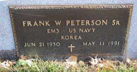 PETERSON, FRANK W. SR. (MILITARY) - Clay County, South Dakota | FRANK W. SR. (MILITARY) PETERSON - South Dakota Gravestone Photos