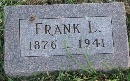 PETERSON, FRANK L. - Clay County, South Dakota | FRANK L. PETERSON - South Dakota Gravestone Photos