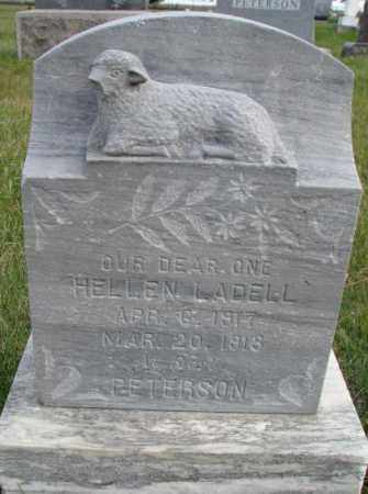 PETERSON, HELLEN LADELL - Clay County, South Dakota | HELLEN LADELL PETERSON - South Dakota Gravestone Photos