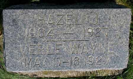 PETERSON, VERLE WAYNE - Clay County, South Dakota | VERLE WAYNE PETERSON - South Dakota Gravestone Photos