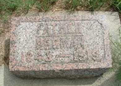 PETERSON, HERMAN - Clay County, South Dakota | HERMAN PETERSON - South Dakota Gravestone Photos