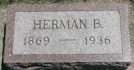 PETERSON, HERMAN B. - Clay County, South Dakota | HERMAN B. PETERSON - South Dakota Gravestone Photos