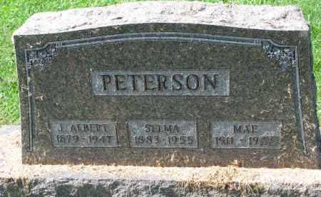 PETERSON, MAE - Clay County, South Dakota | MAE PETERSON - South Dakota Gravestone Photos