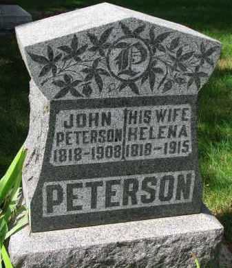 PETERSON, JOHN - Clay County, South Dakota | JOHN PETERSON - South Dakota Gravestone Photos