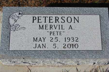 "PETERSON, MERVIL A. ""PETE"" - Clay County, South Dakota 