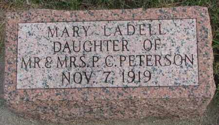 PETERSON, MARY LADELL - Clay County, South Dakota | MARY LADELL PETERSON - South Dakota Gravestone Photos