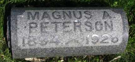 PETERSON, MAGNUS A. - Clay County, South Dakota | MAGNUS A. PETERSON - South Dakota Gravestone Photos