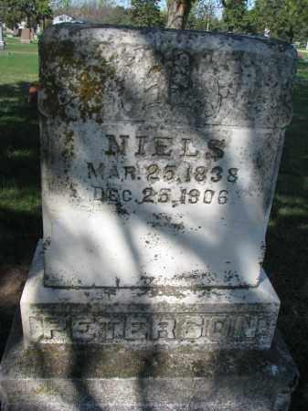 PETERSON, NIELS - Clay County, South Dakota   NIELS PETERSON - South Dakota Gravestone Photos