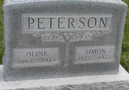 PETERSON, OLINE - Clay County, South Dakota | OLINE PETERSON - South Dakota Gravestone Photos