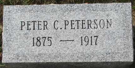 PETERSON, PETER C. - Clay County, South Dakota | PETER C. PETERSON - South Dakota Gravestone Photos