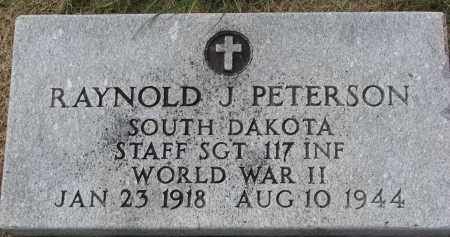 PETERSON, RAYNOLD J. - Clay County, South Dakota | RAYNOLD J. PETERSON - South Dakota Gravestone Photos