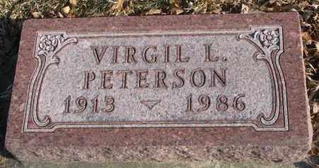 PETERSON, VIRGIL L. - Clay County, South Dakota | VIRGIL L. PETERSON - South Dakota Gravestone Photos