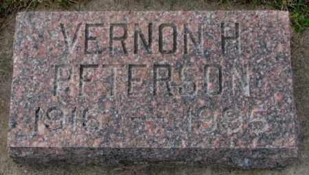 PETERSON, VERNON H. - Clay County, South Dakota | VERNON H. PETERSON - South Dakota Gravestone Photos