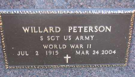 PETERSON, WILLARD - Clay County, South Dakota | WILLARD PETERSON - South Dakota Gravestone Photos