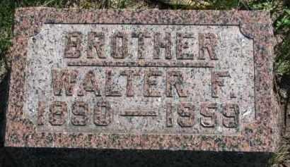 PETERSON, WALTER F. - Clay County, South Dakota | WALTER F. PETERSON - South Dakota Gravestone Photos