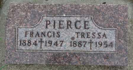 PIERCE, TRESSA - Clay County, South Dakota | TRESSA PIERCE - South Dakota Gravestone Photos