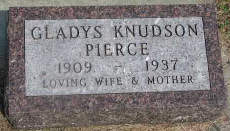 PIERCE, GLADYS - Clay County, South Dakota | GLADYS PIERCE - South Dakota Gravestone Photos