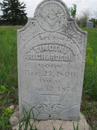 RICHARDSON, TIMOTHY - Clay County, South Dakota   TIMOTHY RICHARDSON - South Dakota Gravestone Photos