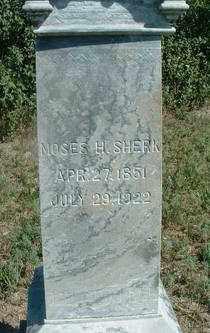 SHERK, MOSES H. - Clay County, South Dakota | MOSES H. SHERK - South Dakota Gravestone Photos