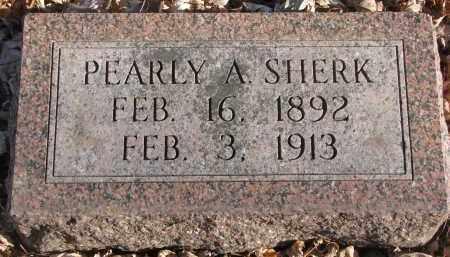 SHERK, PEARLY A. (#2) - Clay County, South Dakota | PEARLY A. (#2) SHERK - South Dakota Gravestone Photos