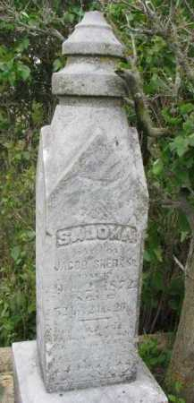 SHERK, SALOMA - Clay County, South Dakota | SALOMA SHERK - South Dakota Gravestone Photos